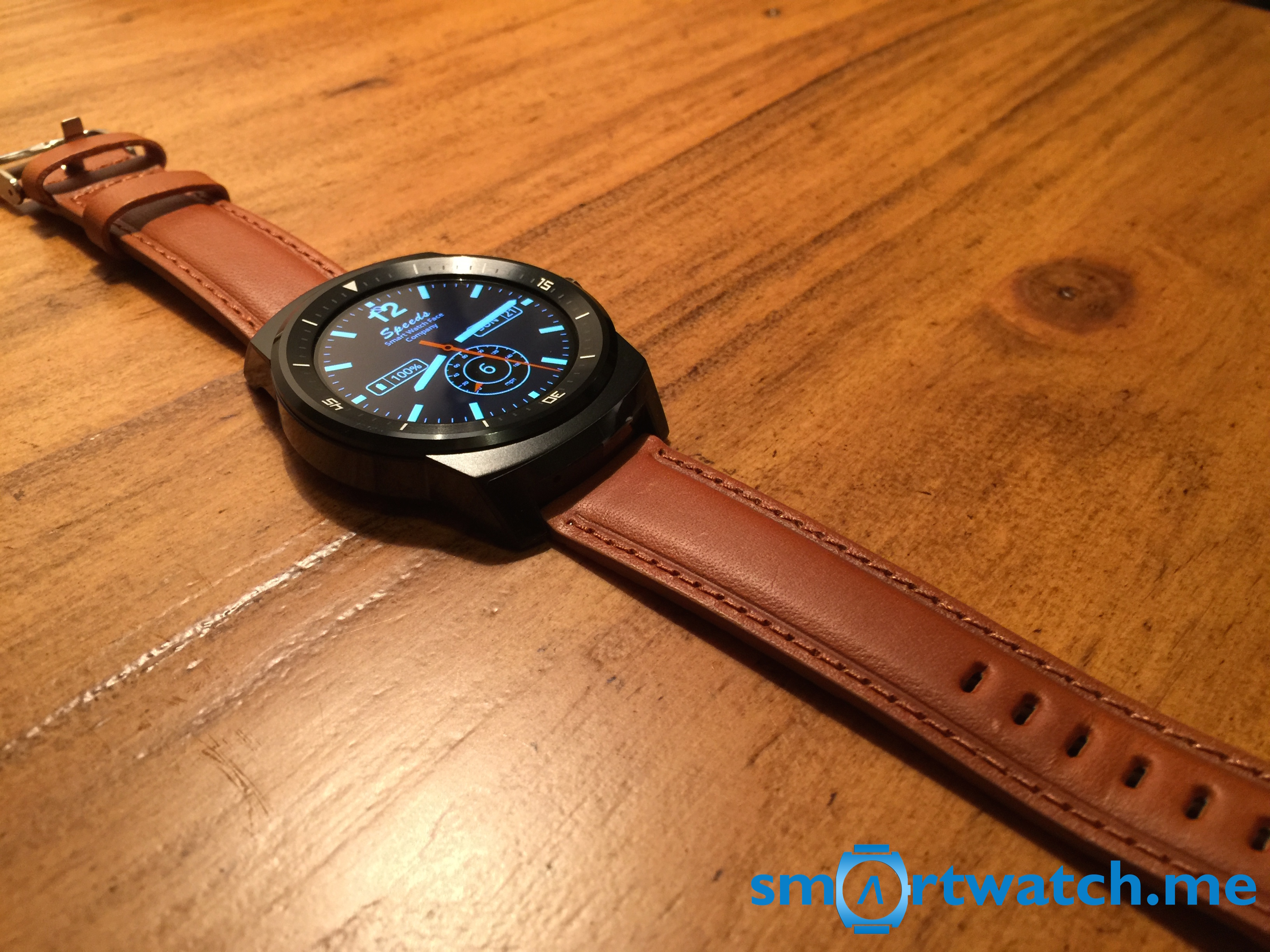 Replacement Band LG G Watch R Tan Brown
