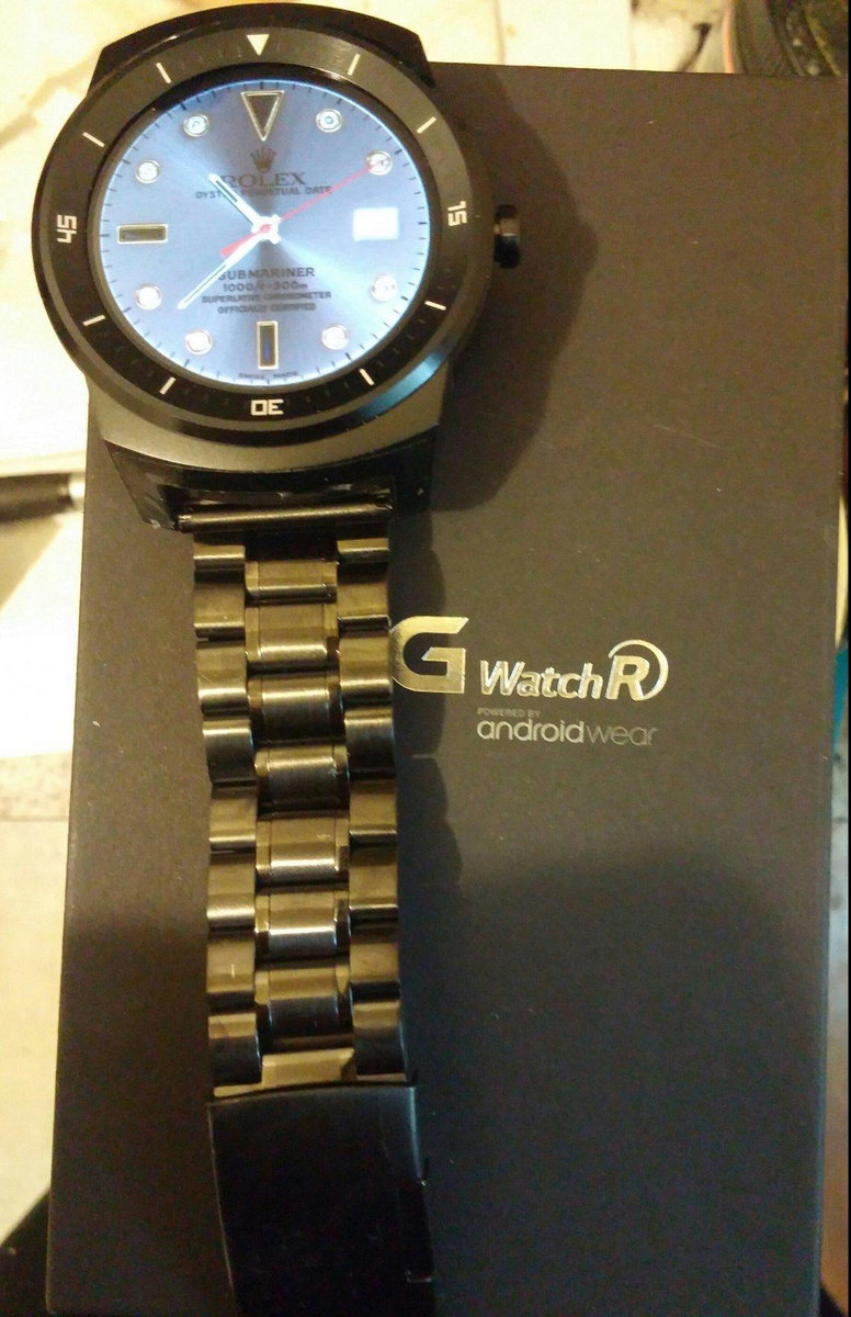LG G Watch R Ritche Replacement steel band