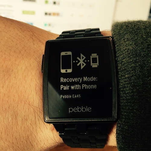 How to Get Pebble Out of Recovery Mode