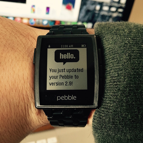 Pebble Steel Force Firmware Upgrade
