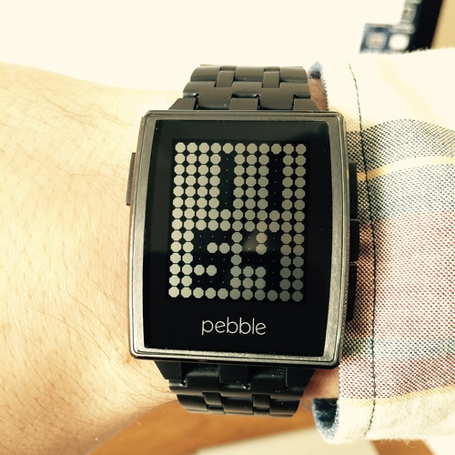 Custom Watch face pebble Dotz