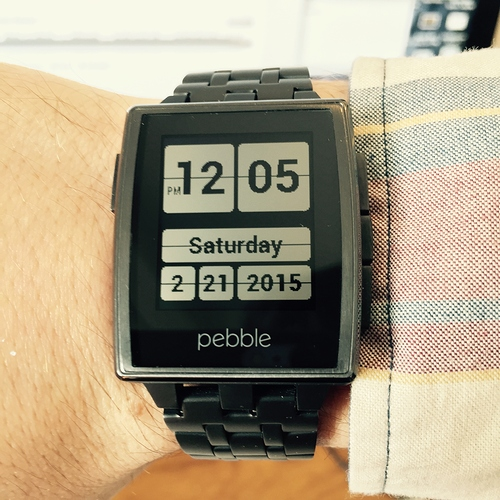 Custom Watch Face Pebble