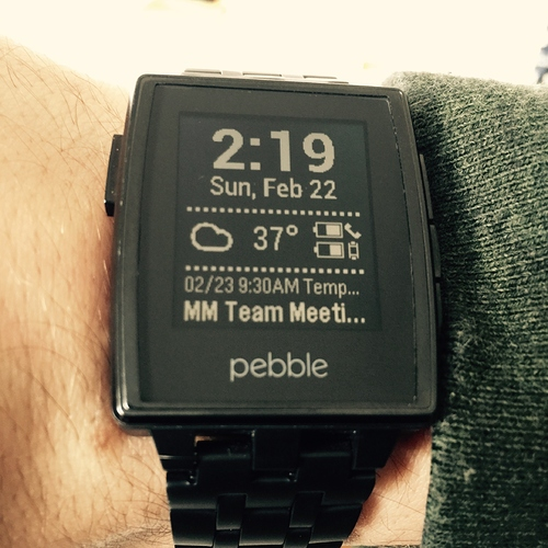 Most Useful Pebble App