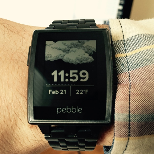 Pebble Best Weather face app