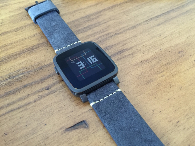 Pebble Time Quick Release Bands