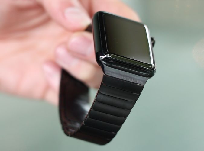 Apple Watch smudge