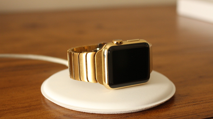 Apple Watch Gold Plated