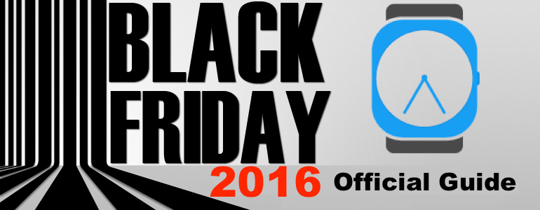 Black Friday Smartwatch and Fitness Tracker Deals 2016