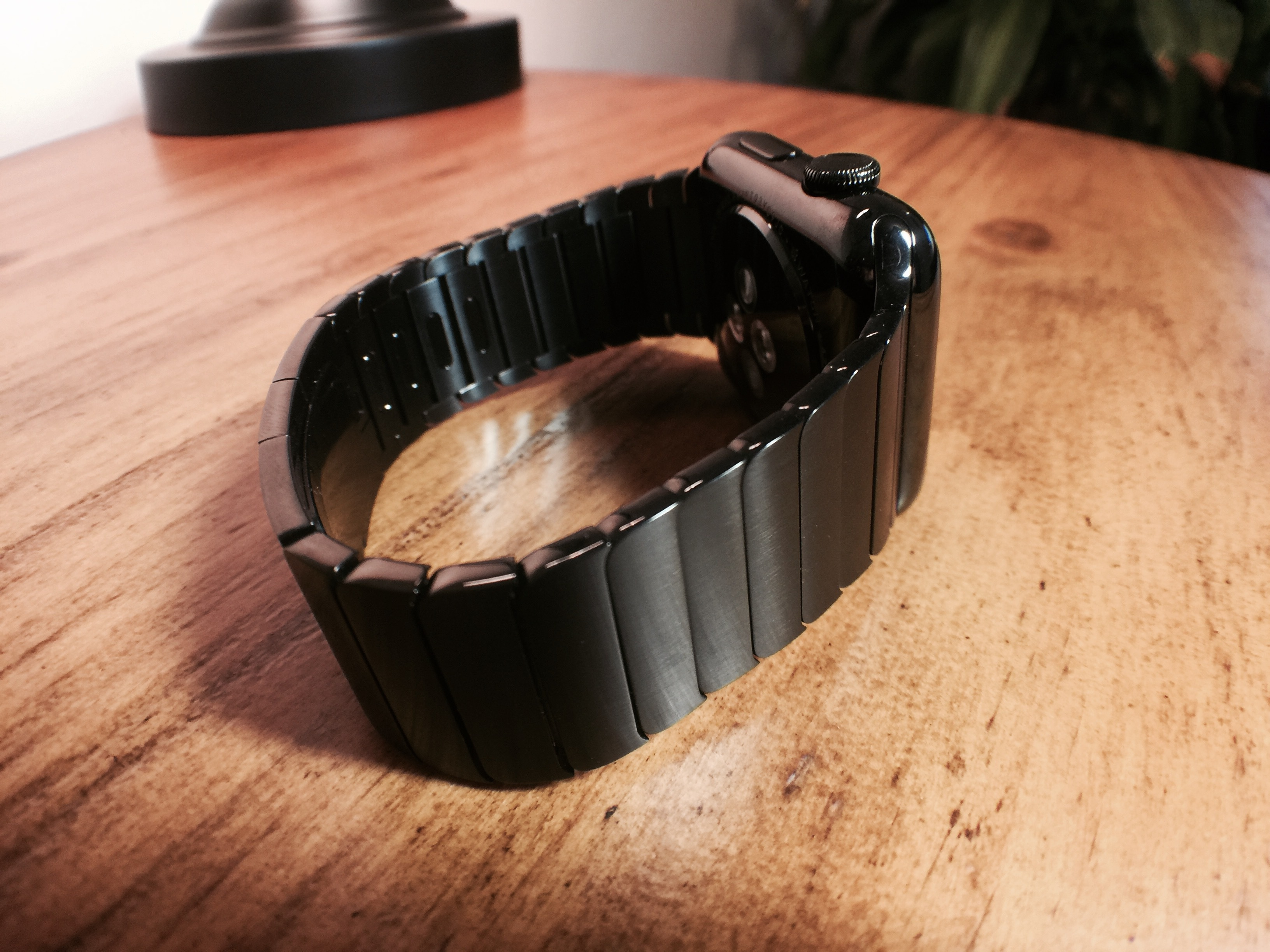 Space Black Steel Apple Watch