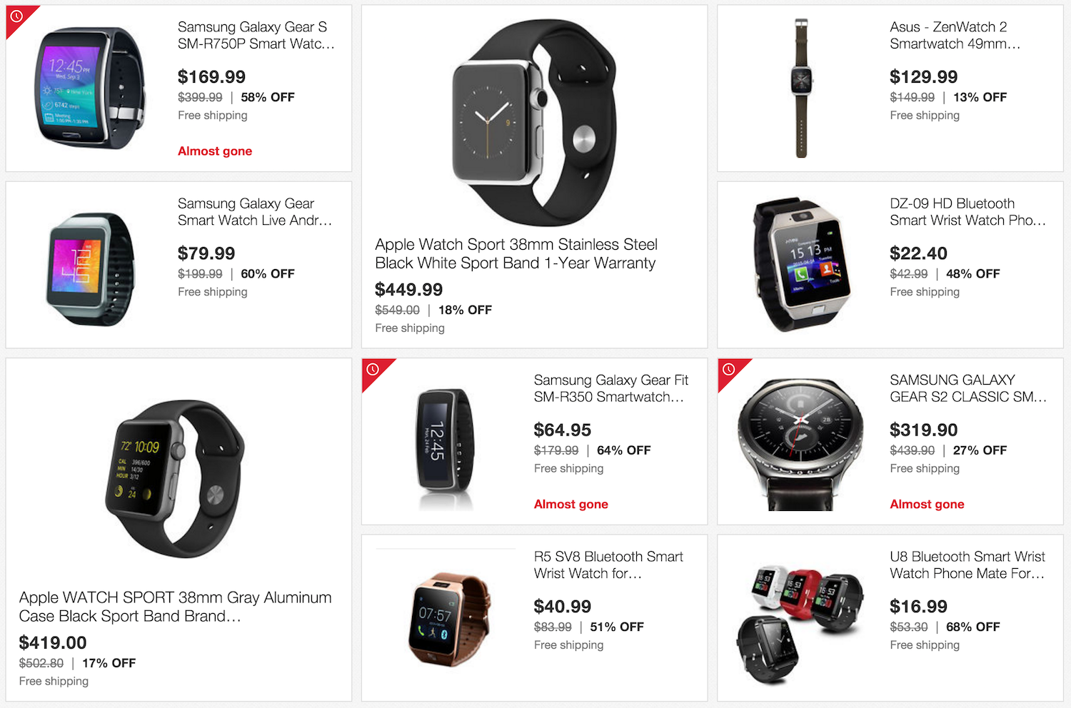 Cyber Monday Smartwatch deals