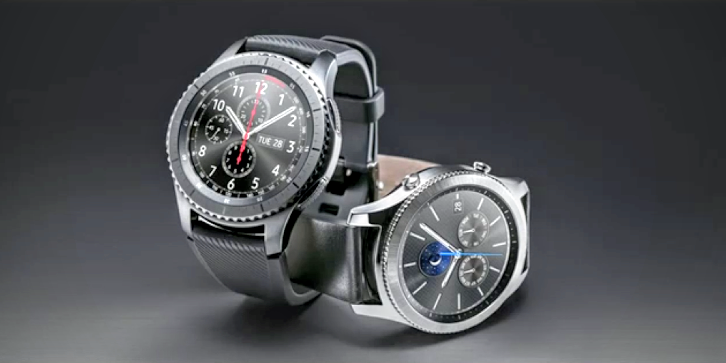 samsung unveils the gear s3 frontier and gear s3 classic. Black Bedroom Furniture Sets. Home Design Ideas