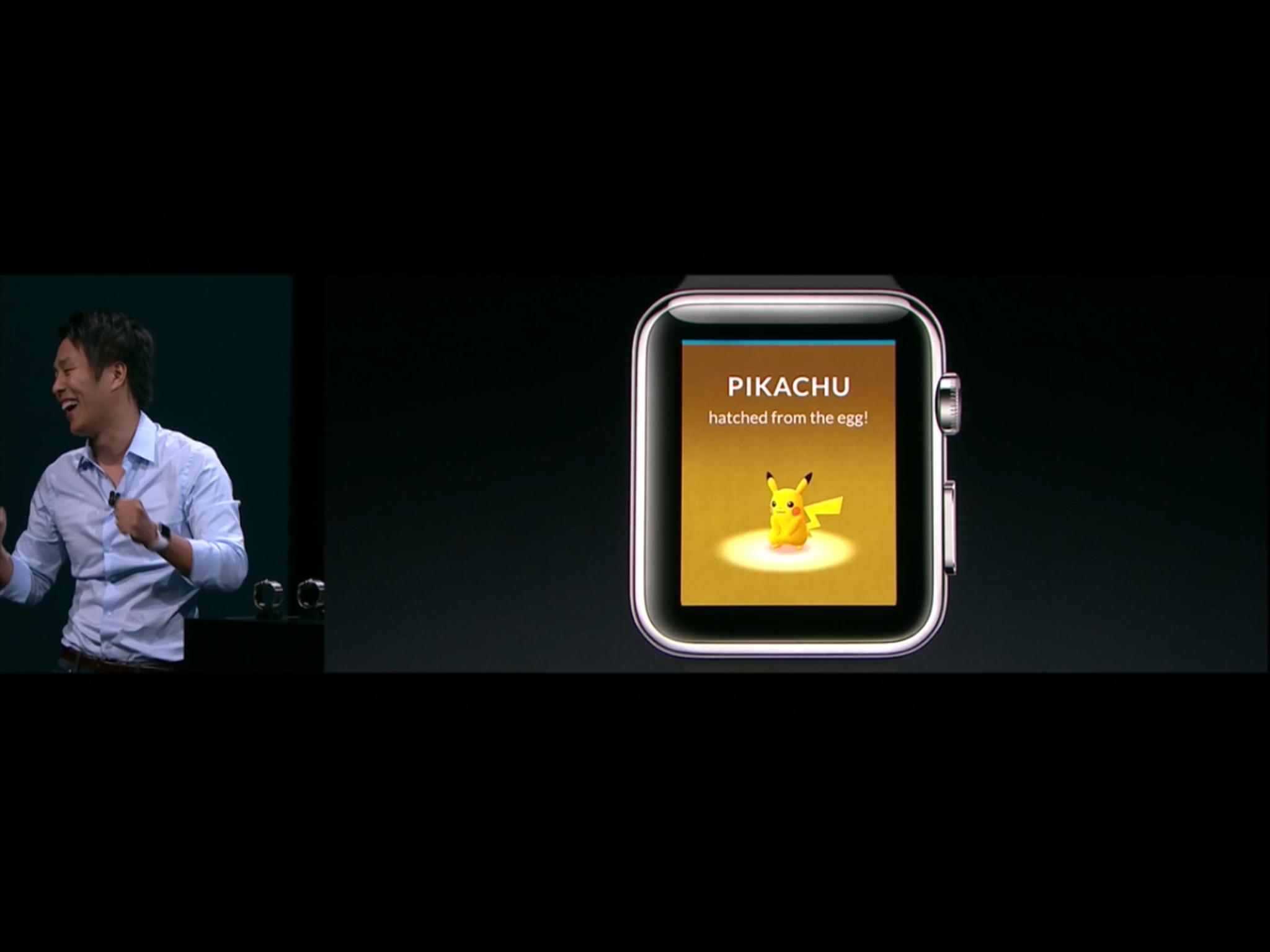 55de0095fd4 Pokemon GO Lands On The Apple Watch - Smartwatch.me