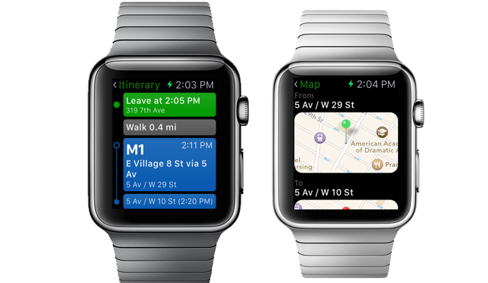 Apple Watch Transit App
