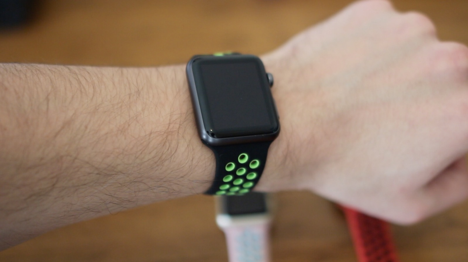 Apple Watch sports nike band