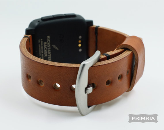 PRIMRIA Leather Strap Pebble Time