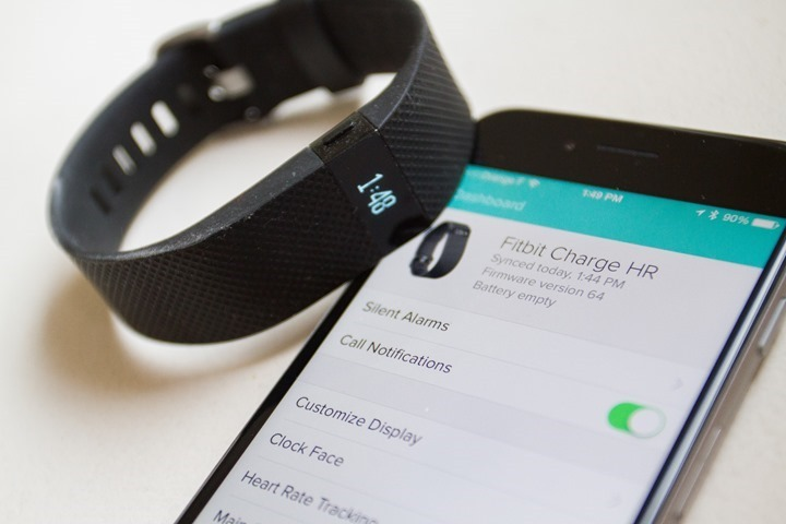 Fitbit charge 2 and fitbit flex 2 photos leak smartwatch fitbitchargehr appsyncthumbg720x480 538 kb sciox Image collections