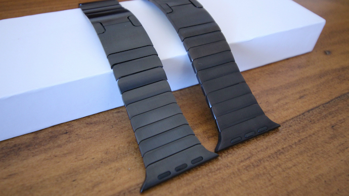 Apple watch link bracelet vs replica