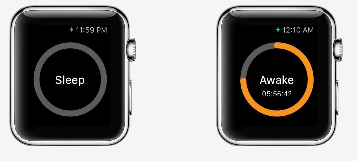 Sleep tracking app for Apple Watch