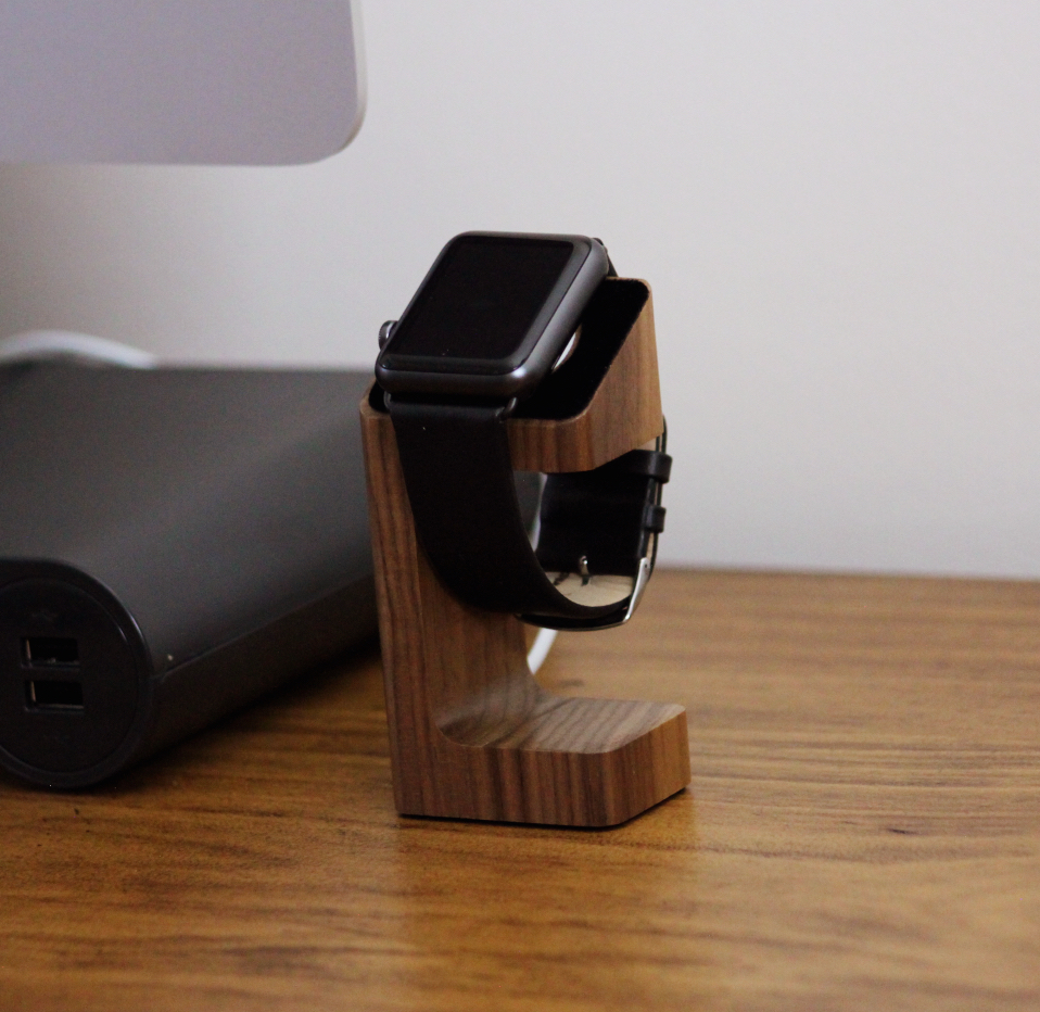AERB Wood Apple Watch Dock