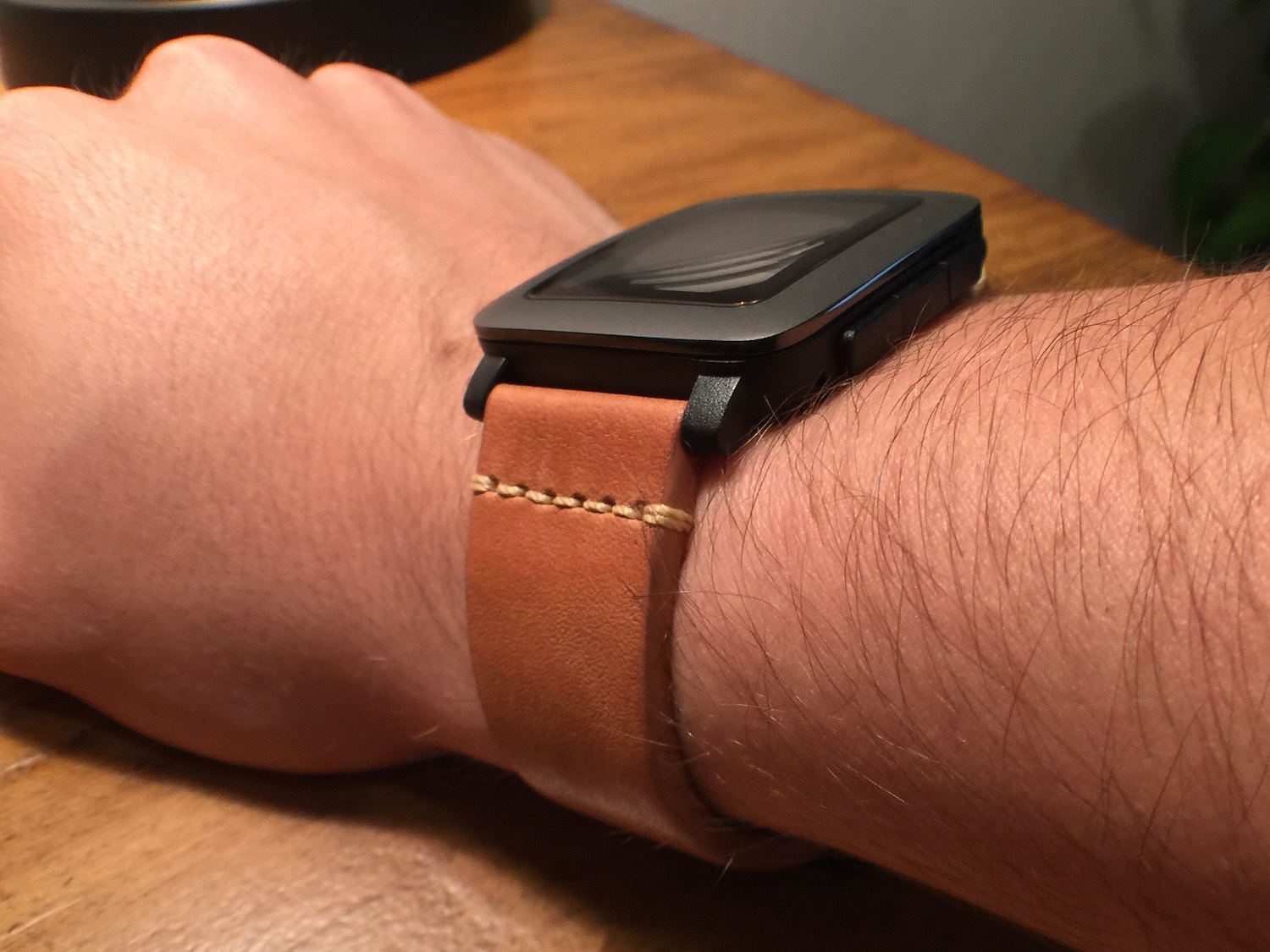 Quick release pebble time