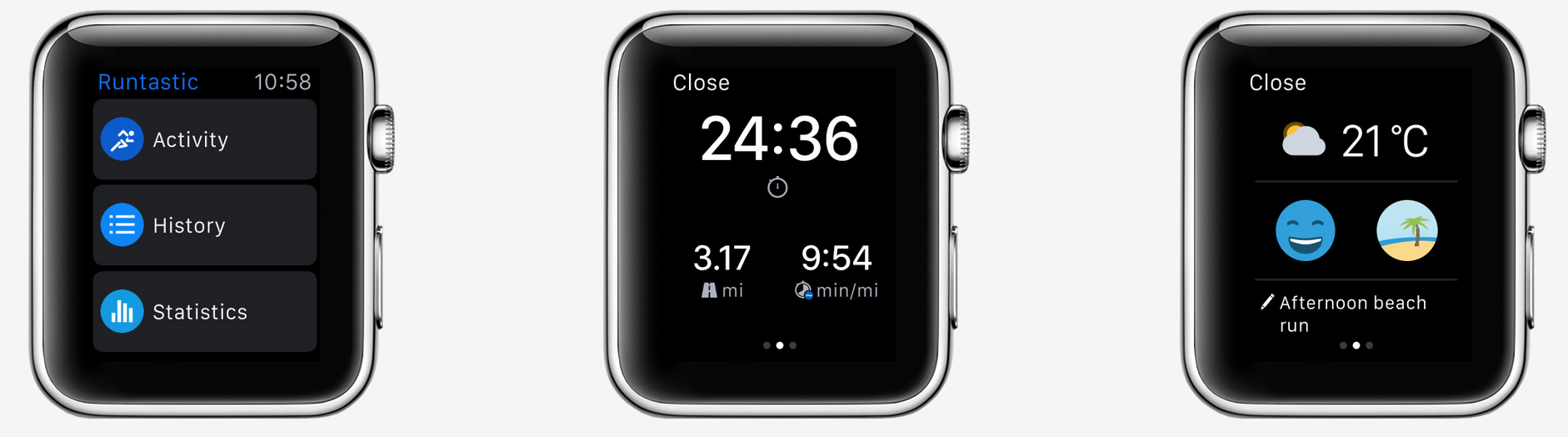 Running app for AppleWatch
