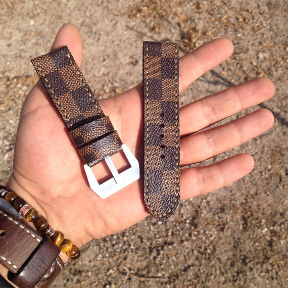 Custom Made Louis Vuitton Apple Watch Bands Bands Straps