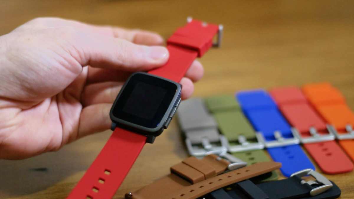 Pebble Time Aftermarket strap