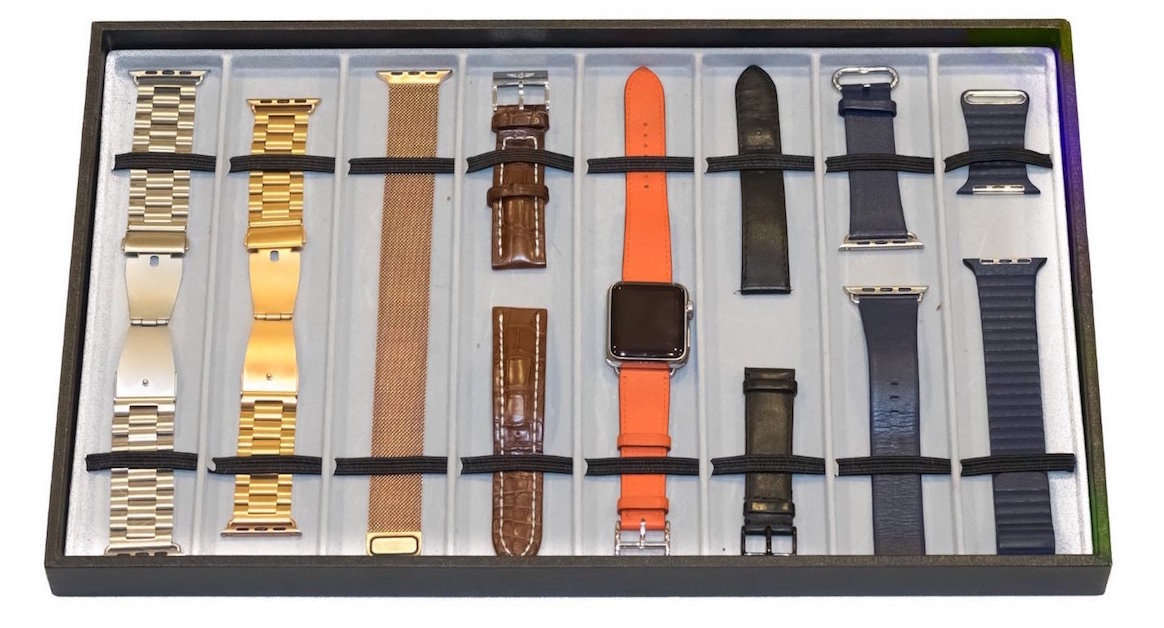 Apple Watch band display case