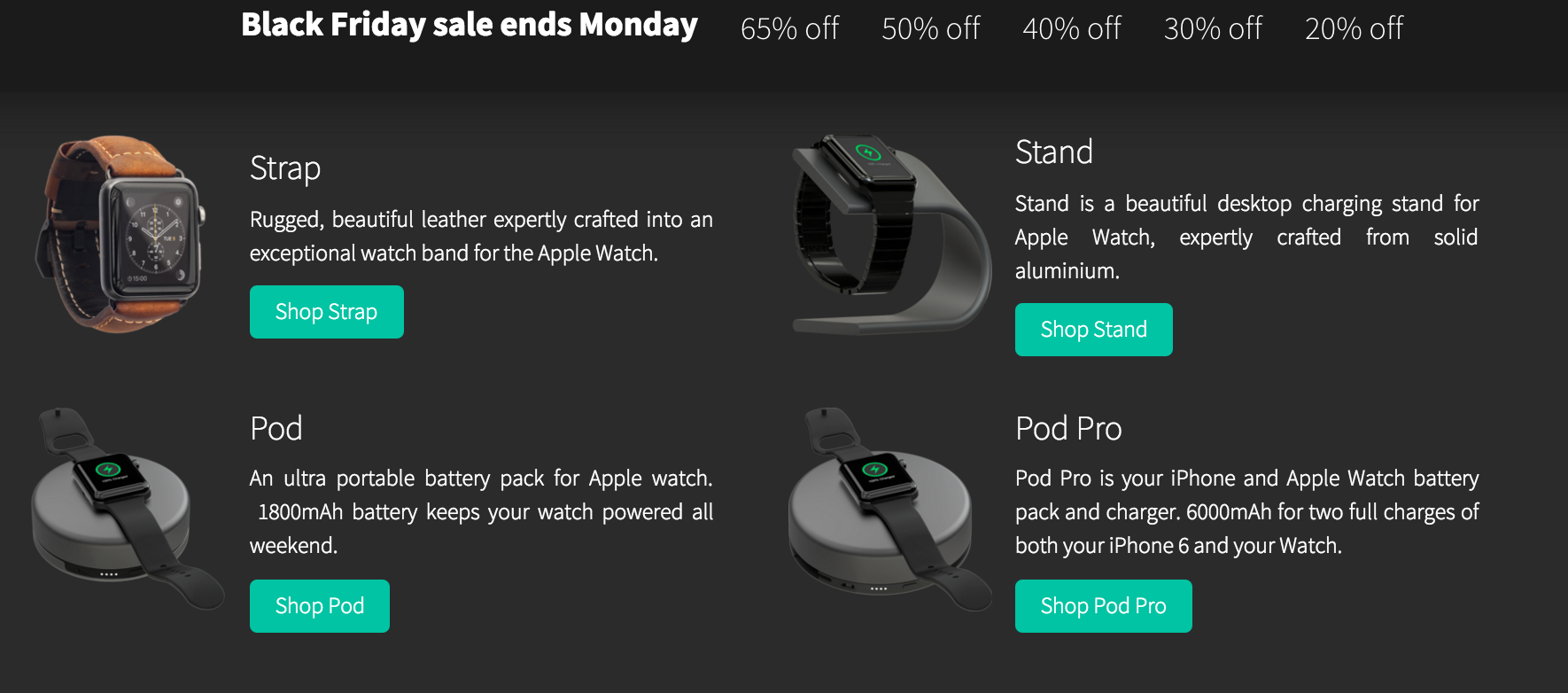 HelloNomad Apple Watch Sale