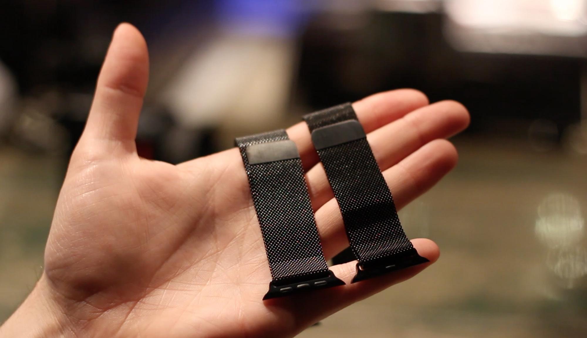 Replica Vs Genuine Apple Watch Milanese Loop Bands