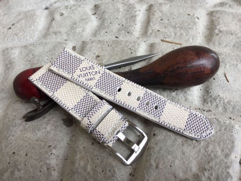 Custom Made Louis Vuitton Apple Watch Bands