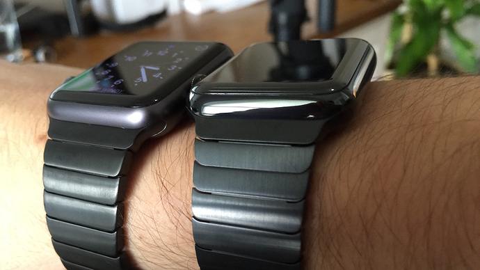 Apple Watch Space Grey Sport with Link Bracelet