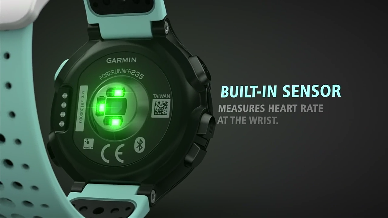 Garmin introduces Forerunner 235 GPS running smartwatch with wrist ...