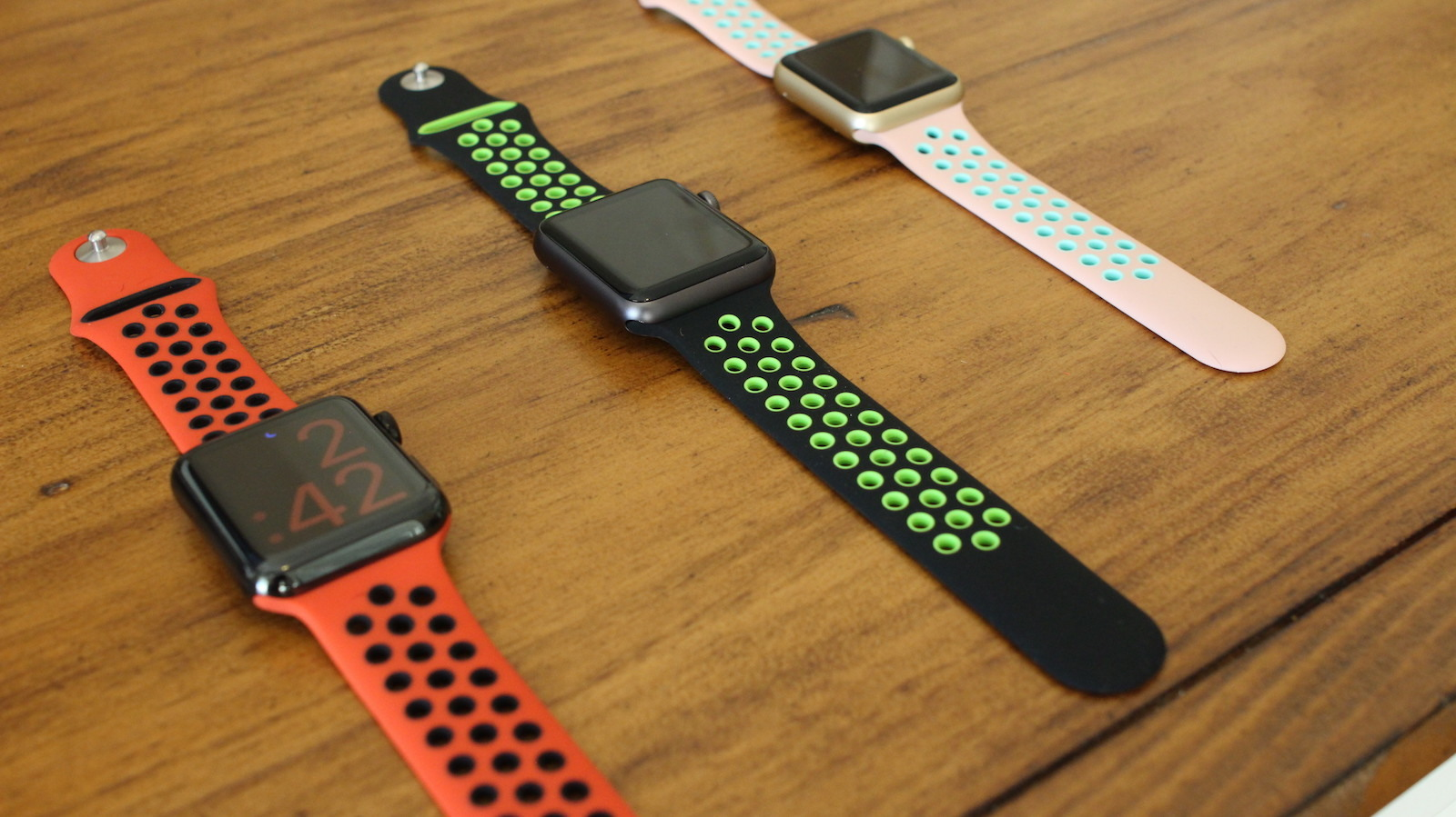 ed930a3a6 Review  Nike+ Replica 3rd Party Bands - Bands   Straps - Smartwatch.me