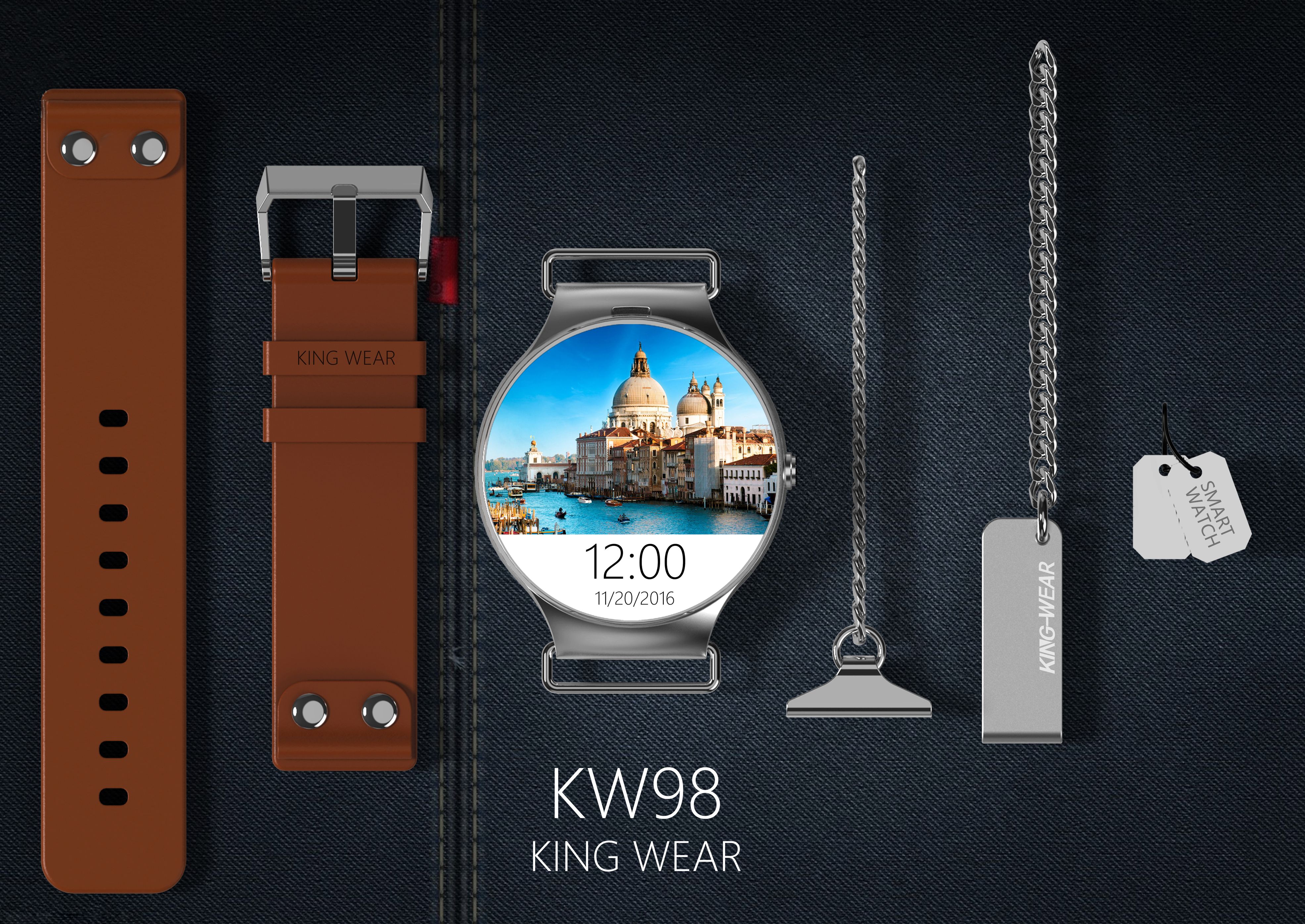 KingWear KW98 new watch coming soon! see you next month