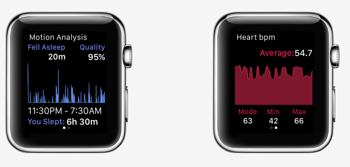 Apple Watch Sleep tracking app