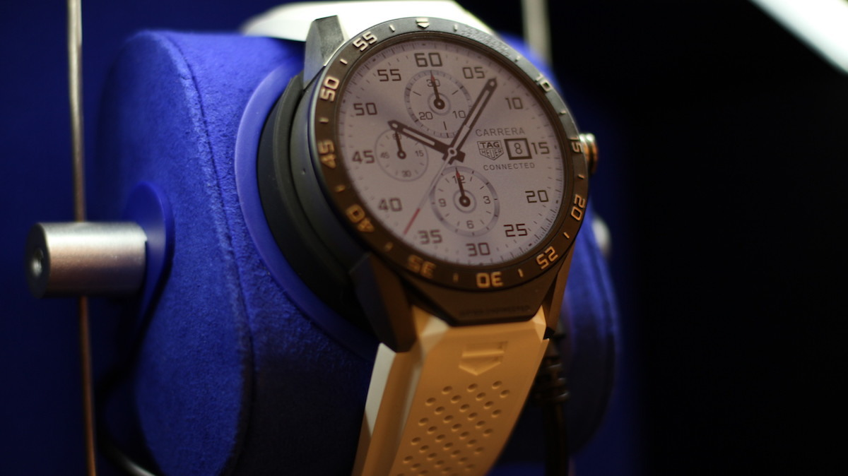 online retailer 6de62 502ea Hands-On Review: TAG Heuer Connected Smartwatch - AndroidWear ...
