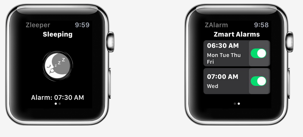 Zleeper Apple Watch Sleep tracker